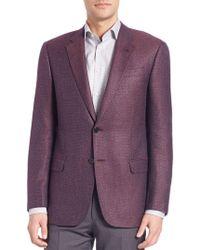 Giorgio Armani - Textured Sportcoat - Lyst