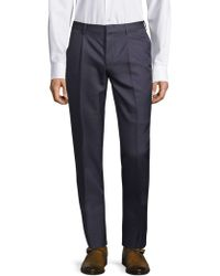 Valentino - Classic Buttoned Trousers - Lyst