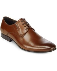 Kenneth Cole - Mix Em Up Leather Derby Shoes - Lyst