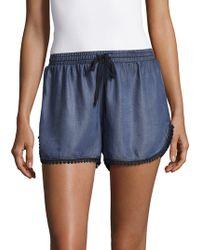 Saks Fifth Avenue - Leandra Dolphin Shorts - Lyst