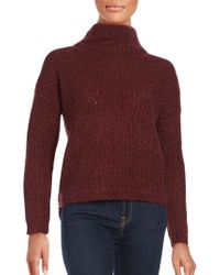 French Connection - Long Sleeve Wool-blend Jumper - Lyst