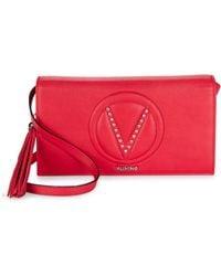 Valentino By Mario Valentino - Lena Leather Crossbody Bag - Lyst