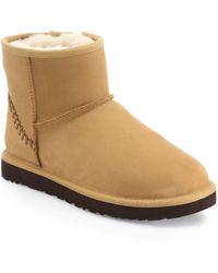 UGG - Classic Mini Deco Boots - Lyst