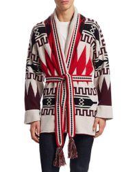 La Societe x SAGUARO - La Société X Saguaro Cashmere Jumper Robe - Lyst