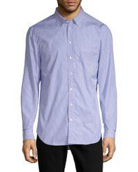 Zadig & Voltaire - Sigmund Raye Cotton Button-down Shirt - Lyst