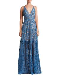 Dress the Population - Melina Lace Gown - Lyst