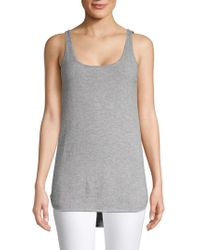 UGG - Madelyn High-low Cashmere Tank Top - Lyst