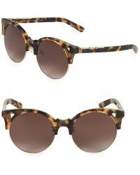 Pared Eyewear - 50mm Clubmaster Sunglasses - Lyst
