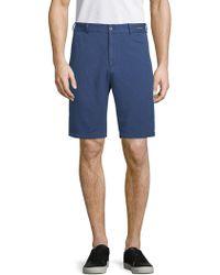 Paul & Shark - Woven Chino Shorts - Lyst