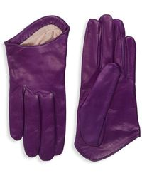 Portolano - Classic Leather Gloves - Lyst