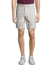 Officine Generale - Cotton Deck Shorts - Lyst