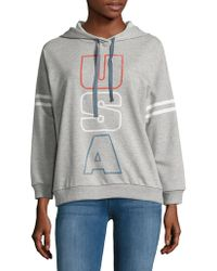 Project Social T - Text Graphic Hoodie - Lyst
