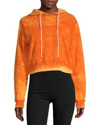 Cotton Citizen - The Milan Cropped Hoodie - Lyst
