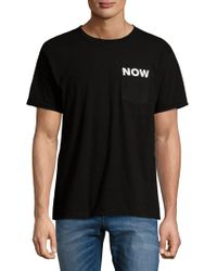 Ezekiel - Graphic Cotton Tee - Lyst