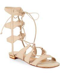 Schutz - Erlina Leather Gladiator Sandals - Lyst