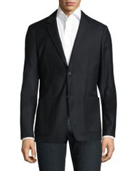 Theory - Tailored Flannel Sportcoat - Lyst
