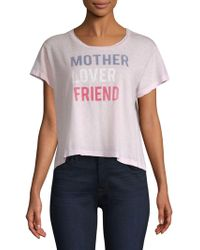 Sundry - Mother Lover Friend T-shirt - Lyst