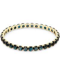 Ippolita - Rock Candy Topaz & Yellow Gold Bangle Bracelet - Lyst