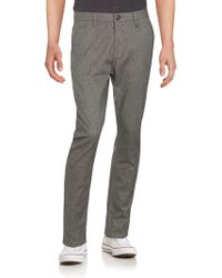 Howe - Flat-front Cotton-blend Pants - Lyst