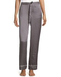 Equipment - Star Silk Pyjama Trousers - Lyst