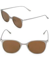 Sunday Somewhere - Tinted 49mm Wayfarer Sunglasses - Lyst