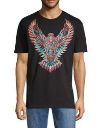 Riot Society - Eagle Print Short Sleeve Tee - Lyst