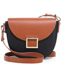 Jason Wu - Mini Jaime Colorblock Leather Saddle Bag - Lyst