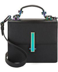 Kendall + Kylie - Minato Mini Leather Crossbody Bag - Lyst