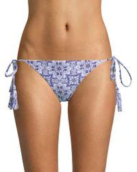 Rachel Roy - String Side-tie Bikini Bottom - Lyst
