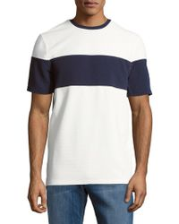 Vince Camuto - Colorblock Short-sleeve Tee - Lyst