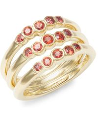 Ippolita - 18k Gold & Sapphire Glamazon Ring - Lyst