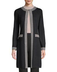 St. John - Santana Studded Knit Jacket - Lyst