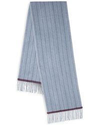 Saks Fifth Avenue - Boxed Striped Cashmere Scarf - Lyst