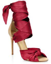 Alexandre Birman - Katherine Lace-up Sandals - Lyst
