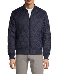 7aed78bee Quilted Bomber Jacket
