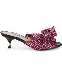 c1aa3869b339 Lyst - Kate Spade Delano Glitter Stripe Lace Up Espadrille Platform ...