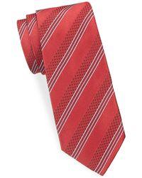 Ike Behar - Striped Silk Tie - Lyst