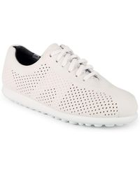 Camper - Leather Low-top Sneakers - Lyst