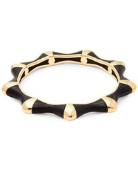 Estate Fine Jewelry - Oakgem Vintage 18k Gold Bangle Bracelet - Lyst