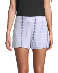 PPLA - Andie Printed Shorts - Lyst