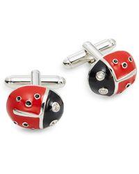 Saks Fifth Avenue - Ladybug Cuff Links - Lyst