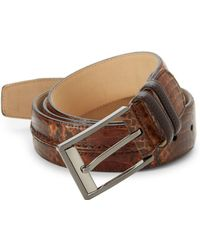 Mezlan - Parma Leather Belt - Lyst