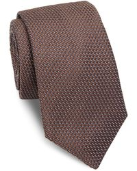Ike Behar - Medallion Silk Tie - Lyst