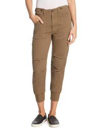 Vince - Slouchy Military Buttoned Pants - Lyst