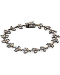 Freida Rothman - Fleur Bloom Sterling Silver Bracelet - Lyst