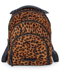 Kendall + Kylie - Sloane Leopard Backpack - Lyst