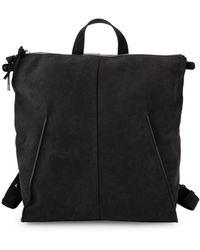 Steven Alan - Leather Zip Backpack - Lyst