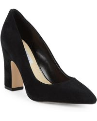 Saks Fifth Avenue - Jordi Point Toe Suede Pumps - Lyst