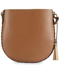 Vince Camuto - Leather Bucket Crossbody Bag - Lyst