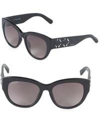 Swarovski - 58mm Crystal Square Sunglasses - Lyst